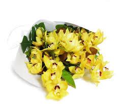 Orchid Bouquet Large Cymbidium Orchid Bouquet Kate Hill Flowers
