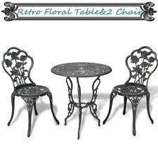 Vintage Bistro Table And Chairs Marko Outdoor Lisbon 3pc Mosaic Bistro Set Garden Furniture Patio