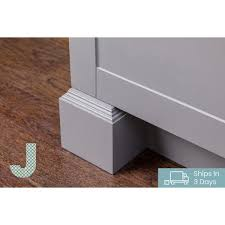 kitchen cabinet base moulding j collection 4 5 in x 0 75 in base moulding in gray bm96