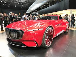 maybach sports car concept car archives luxuo