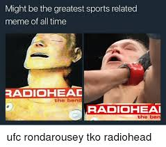 Radiohead Meme - might be the greatest sports related meme of all time radio heac the