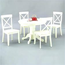 Ikea White Pedestal Table Home Styles Round Pedestal Dining Table Antique White And Chairs