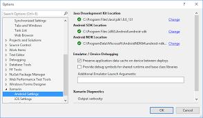 install android sdk windows installation xamarin