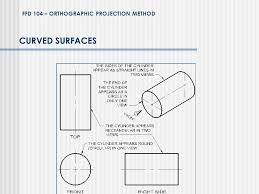 orthographic drawing top view front view ppt video online download