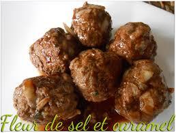 cuisiner des boulettes de boeuf fleur de sel et caramel boulettes de boeuf orientales