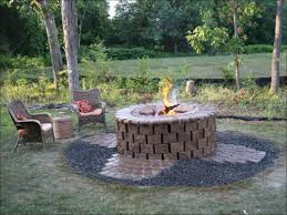 exteriors amazing outdoor wood burning fire pit kits fire pit