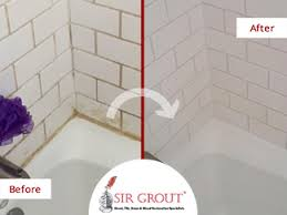 Cleaning Grout In Shower Get Rid Of Rust And Dye Stains In Your Shower With A Tile And