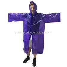 Purple Rain Halloween Costume Disposable Rain Poncho Disposable Rain Poncho Suppliers