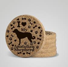 urban animal ring holder images I love my anatolian shepherd quot premium coaster set add a rustic or jpg