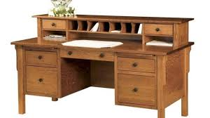 Solid Wood Desks For Home Office Amazing Solid Wood Desks With Executive Desk Home Office Modern