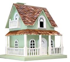 Big Bazaar Home Decor by Amazon Com Home Bazaar Hand Made Hobbit House Mint Green Bird