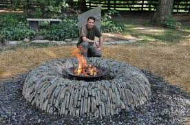 Fire Pit Lava Rock by Outdoor Fire Pit Lava Rock Johnson Patios Design Ideas