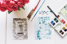 painting with a monochromatic color palette