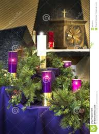 large christmas advent wreath candles for catholic church