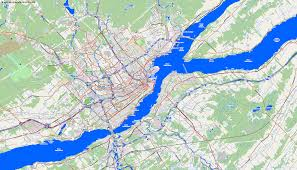 Map Of Quebec City Maps Quebec City