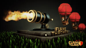 clash of clans wallpaper 23 image clash of clans flame thrower png clash of clans wiki