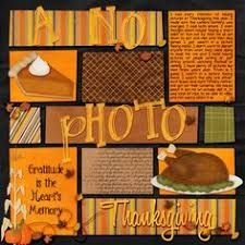 blj studio gobble til you wobble thanksgiving scrapbook