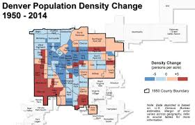 denver is absorbing a lot more people but it u0027s not more densely