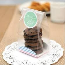 clear gift wrap best 100 cellophane cookie bag bakery macaron packing semi