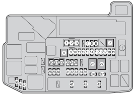 toyota prius from 2012 fuse box diagram auto genius