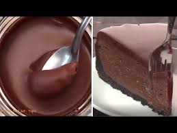 how to make a chocolate cake most oddly satisfying cake video