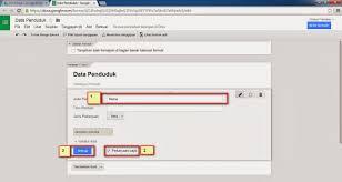 langkah membuat google form membuat form input data dan database menggunakan google drive
