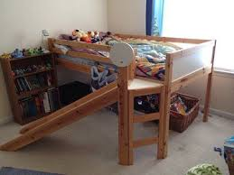 Best Loft Bed With Slide Images On Pinterest  Beds Lofted - Ikea bunk bed slide