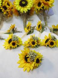 sunflower corsage 16 best prom images on boutonnieres bridal bouquets