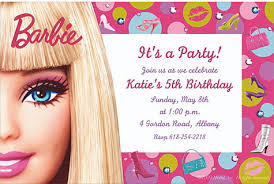 barbie birthday invitations orionjurinform com
