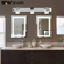 bathroom mirror lighting fixtures sheng diya led modern minimalist bathroom mirror light bathroom