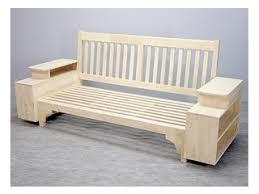 canapé en bois canape hevea md8206x v jpg
