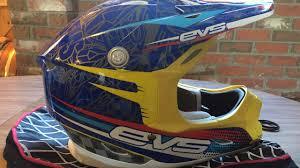 evs motocross helmet evs t7 martini обзор шлема youtube
