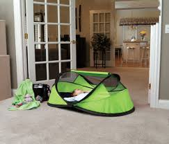 Baby Folding Bed Peapod Portable Travel Bed Oh Baby Kids