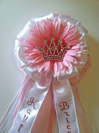 corsage de baby shower baby shower corsages princess crown baby shower corsage on etsy