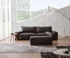 sofa anthrazit big sofa marbeya 280x115 cm schwarz mit hocker marbeya