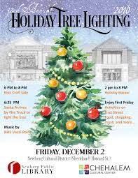 32nd annual christmas tree lighting newberg oregon