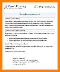 8 career summary example mla cover page
