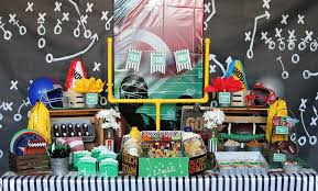 football party ideas football party for kids sports party ideas at birthday in a box