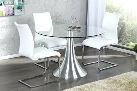 table de cuisine ronde en verre pied central table de cuisine en verre table de cuisine ronde en verre trempac