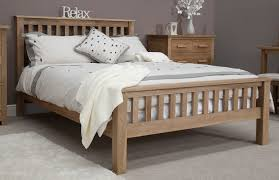 Contemporary Wooden Bedroom Furniture Eton Solid Contemporary Oak Bedroom Furniture 5 U0026 039 King Size