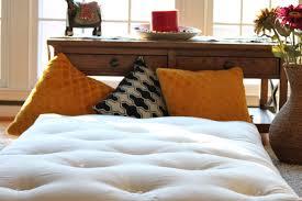 futon pillows organic cotton mattress organic futon indian japanese style