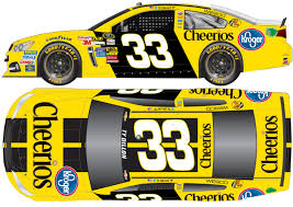2015 ty dillon 33 cheerios sprint cup paint scheme nascar