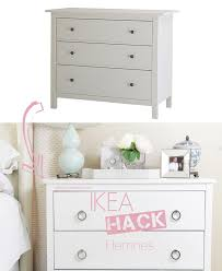 Ikea Hemnes Dresser Hack Ikea Hack Hemnes Little House Of Chic
