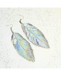 80s feather earrings new savings on bohemian earrings boho feather earrings boho