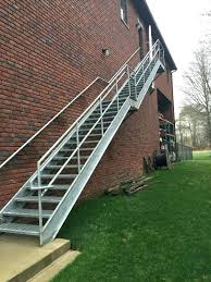 outside stairs design outdoor stair railing kits staircase design houses wrought iron