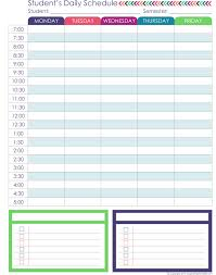 printable homeschool daily planner homeschool planner expansion pack homeschool attendance and