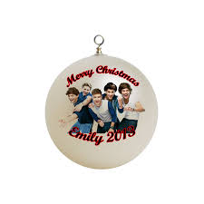 personalized one direction ornament 2
