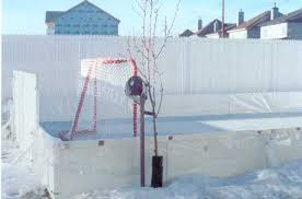 How To Build An Ice Rink In Your Backyard Backyard Ice Rinks Liner Method