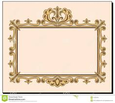 fancy blank invitation stock vector image of copy swirls 4403540
