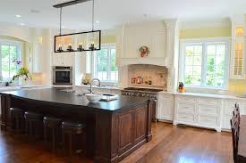 appliances base cabinets dark green kitchen island with pot